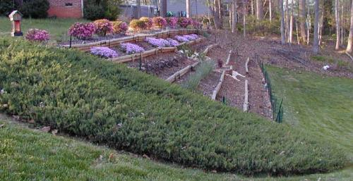 April '02 Front Hill Side View